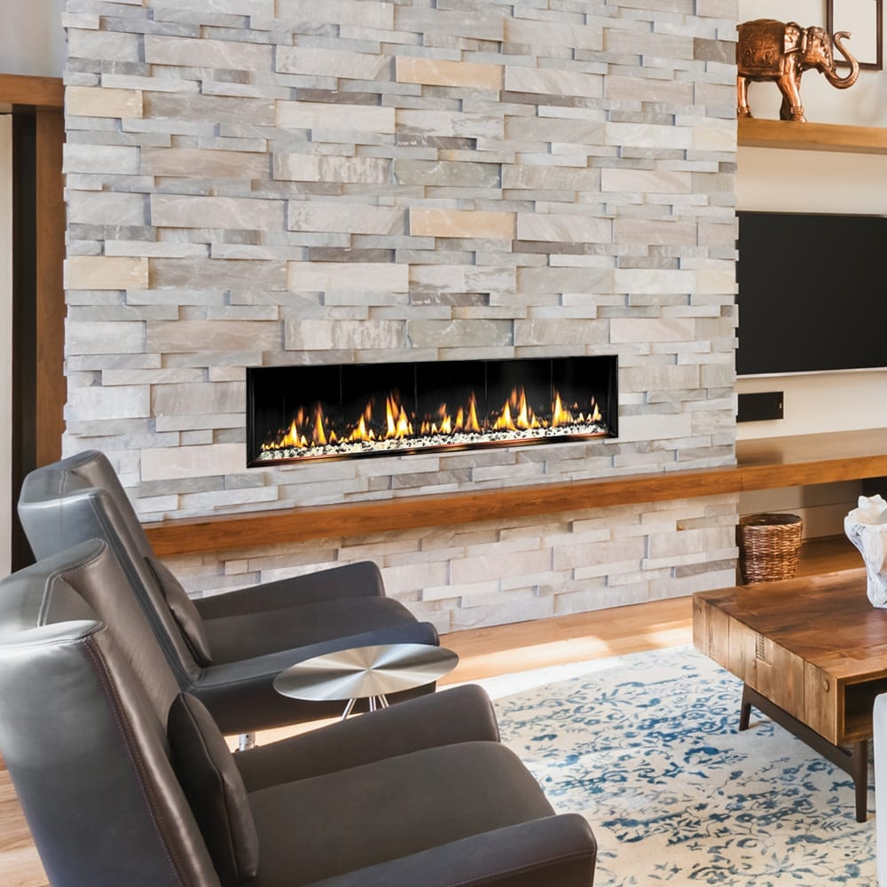 FORTY8 Built-In Fireplace