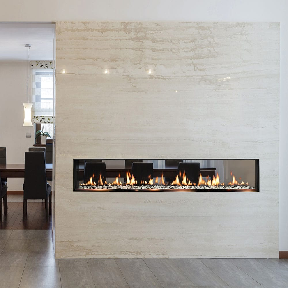 SIXTY0 See-Thru Built-In Fireplace