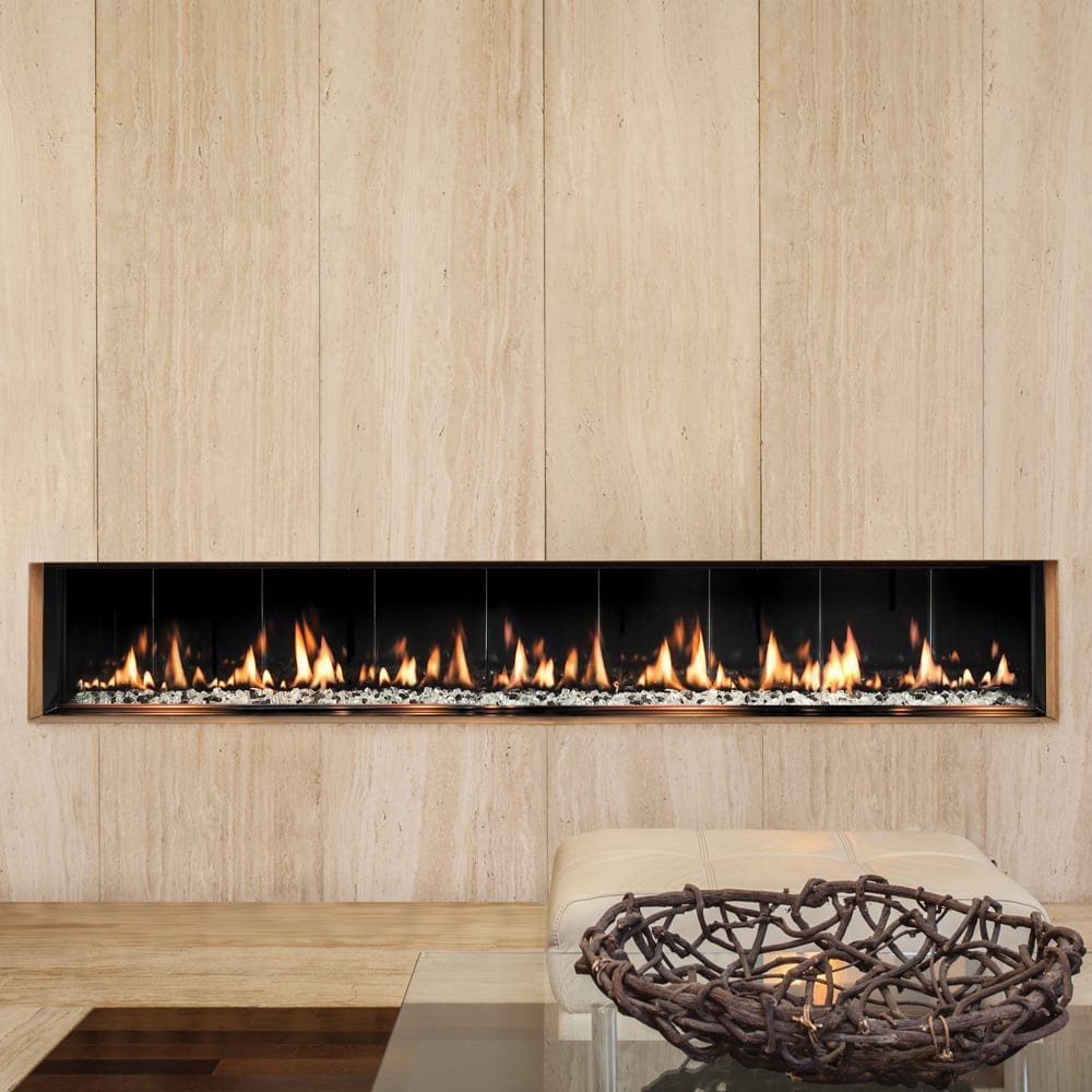 Seventy2 slim line built in s las contemporary fireplaces - How to put out a fireplace ...