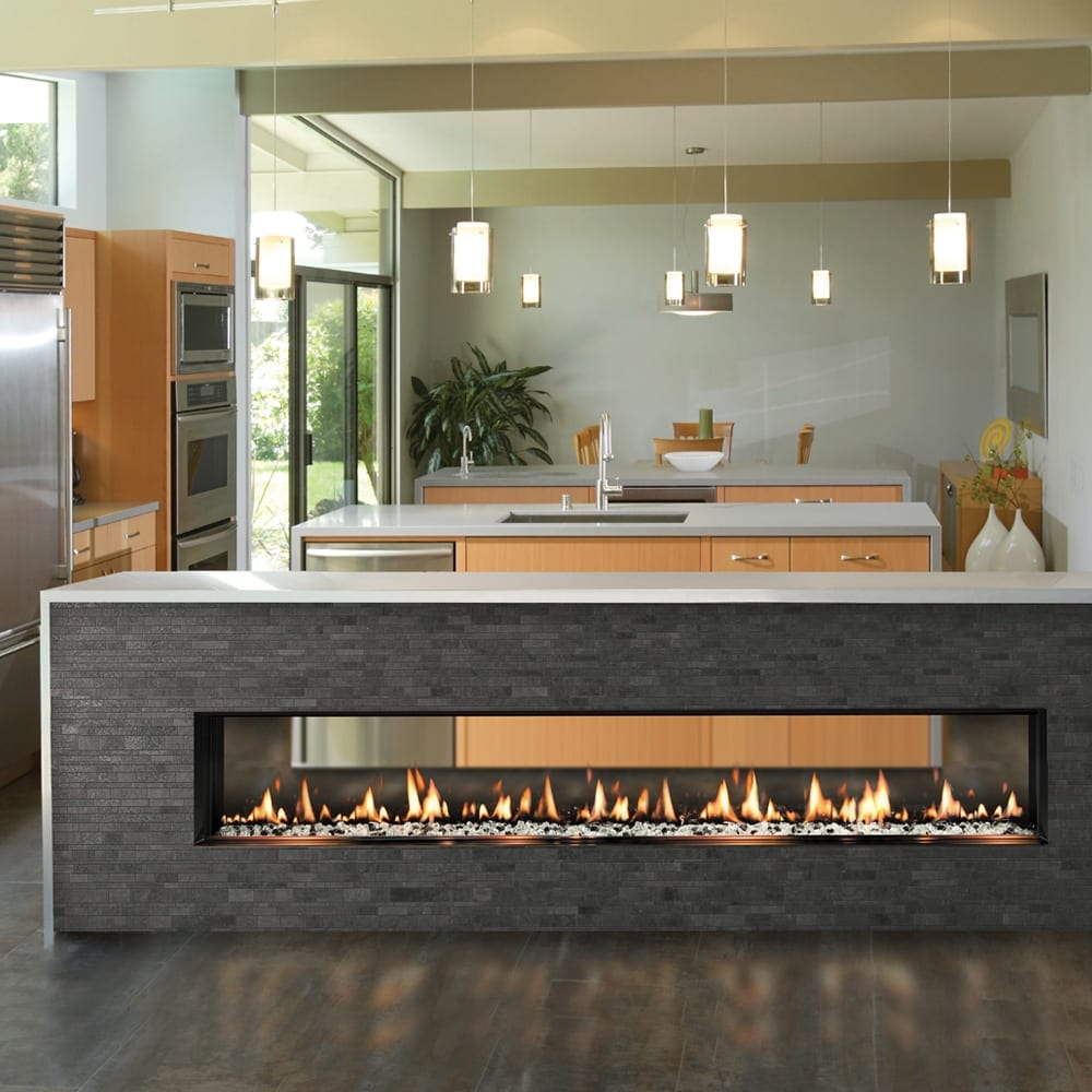 SIXTY0 Slim-Line Built-In | SÓLAS Contemporary Fireplaces