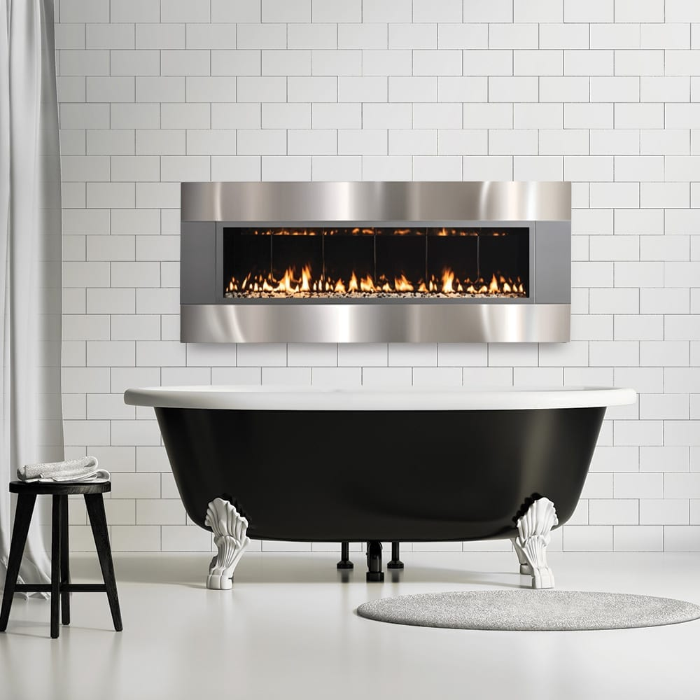 Forty6 Wall Mounted Direct Vent Fireplace