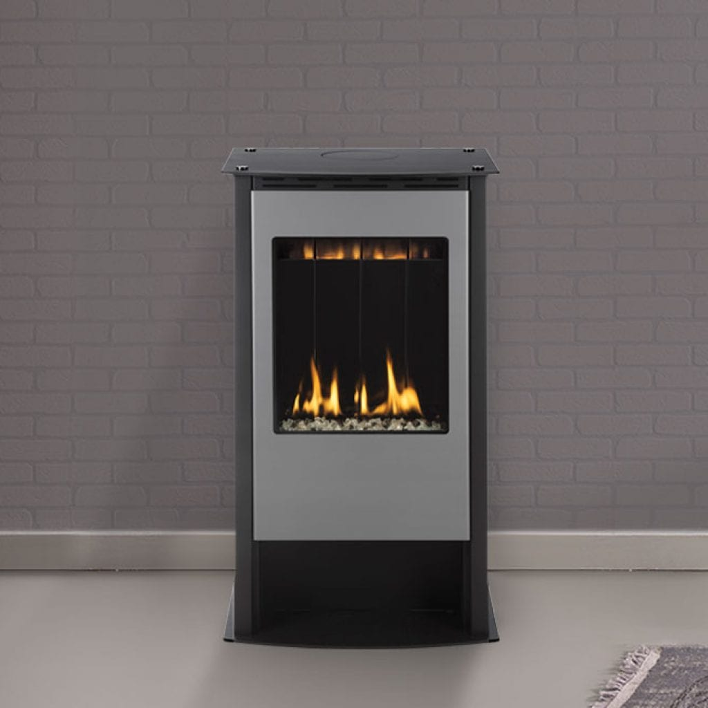 Freestandingfreestanding Gas Stove Insertcontemporary Insert Fireplace